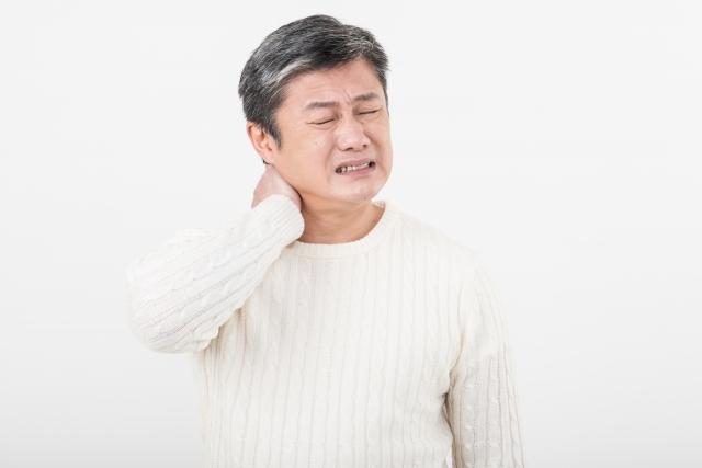 横を向けない首の痛み